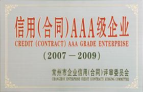 信用合同AAA级企业